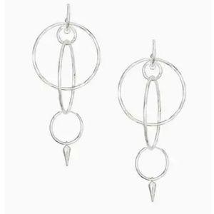 Stella & Dot interlocking hoops